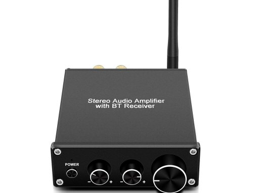 GV-016 50W*2 2.0CH Bluetooth Stereo Audio Amplifier