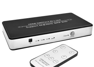 GV-S401A(PIP) 4 Ports HDMI Switch with PIP (Picture in Picture)
