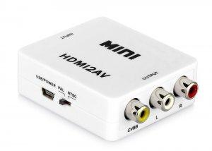 GV-HDMI2AV HDMI to AV Composite Converter