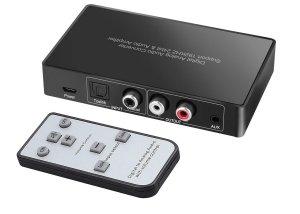 GV-CA1103 Digital to Analog converter by IR remote control