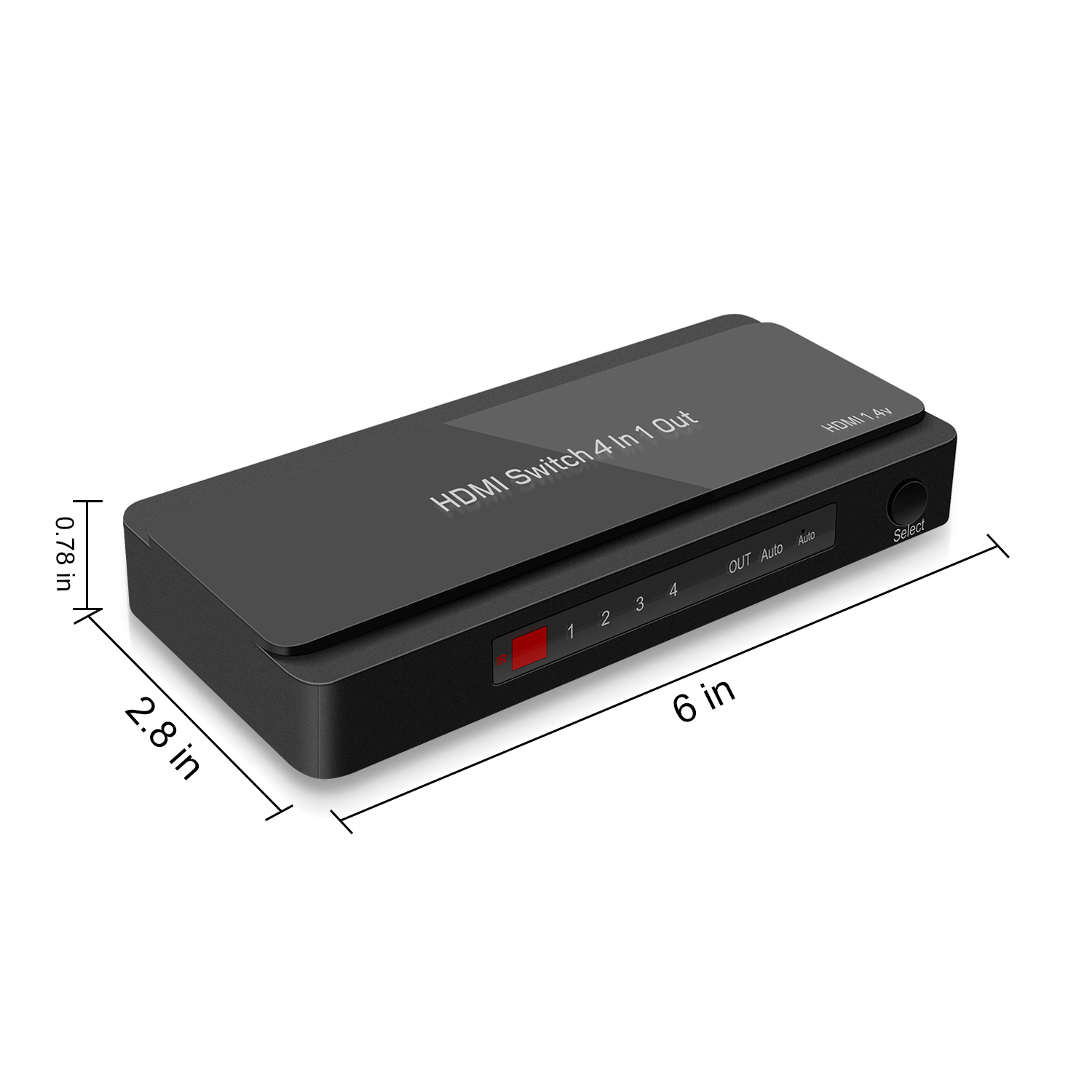 GV-S401B 4 Ports HDMI Switcher Hub