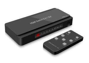 GV-S501B 5 input Ports HDMI Selector HUB