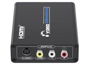 GV-CH2002 AV S-Video to HDMI Converter adapter