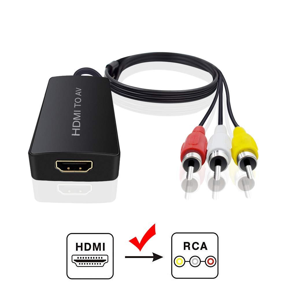 GV-CH5004 HDMI to 3RCA CVBS Composite Converter