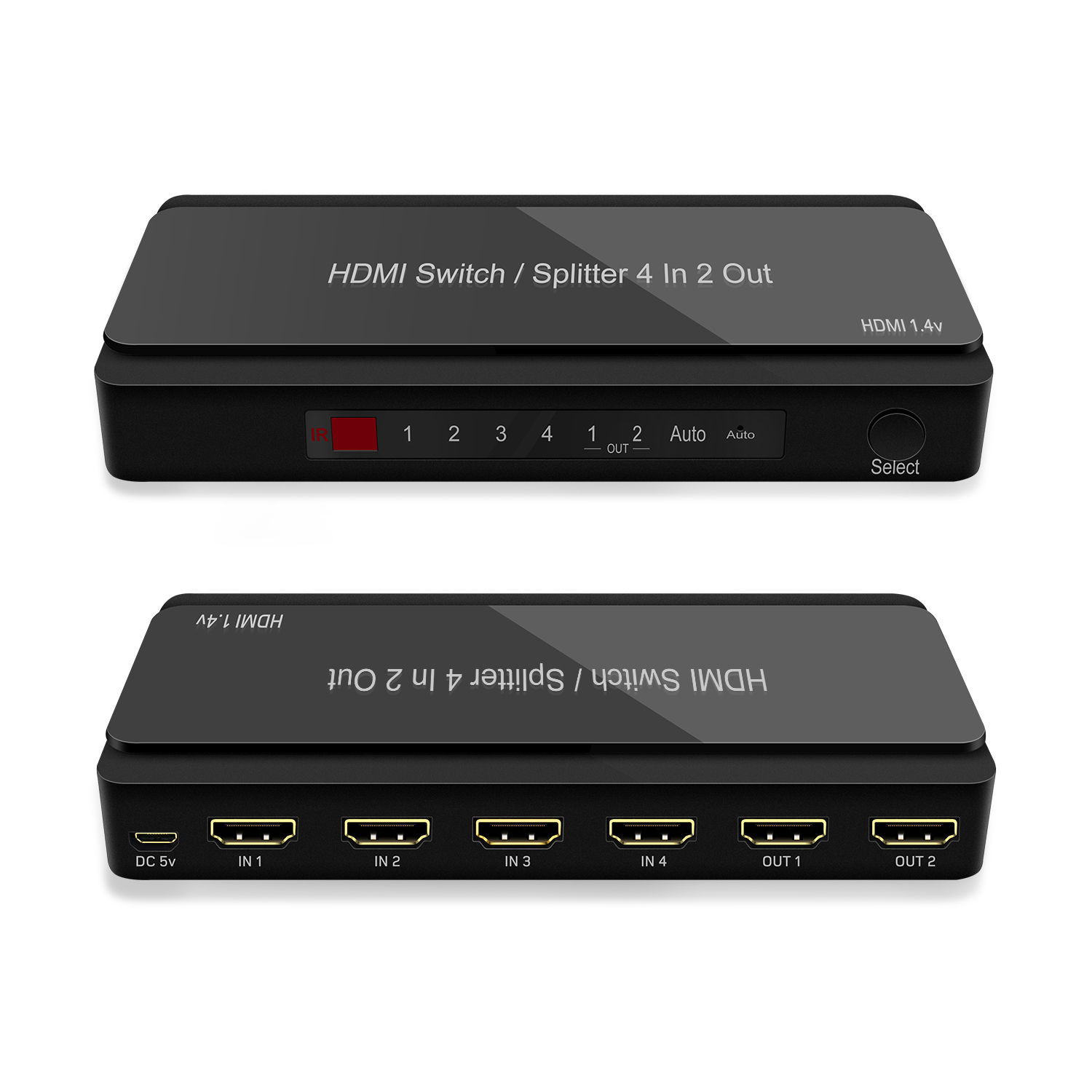 GV-S401C 4x2 HDMI Switch Splitter